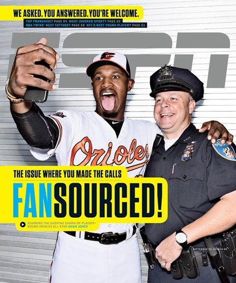 ESPN The Magazine Cover - 9/29/2014