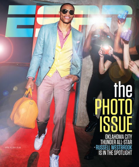 ESPN The Magazine Cover - 4/15/2013