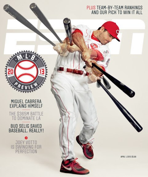 ESPN The Magazine Cover - 4/1/2013