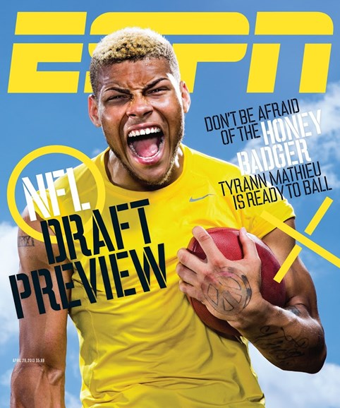 ESPN The Magazine Cover - 4/29/2013