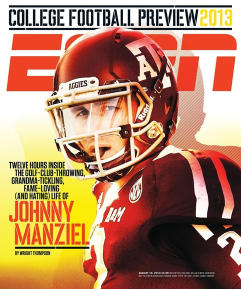 ESPN The Magazine Cover - 8/19/2013