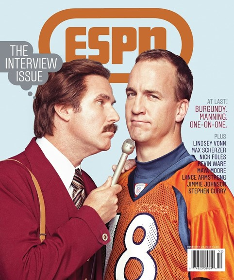 ESPN The Magazine Cover - 12/23/2013