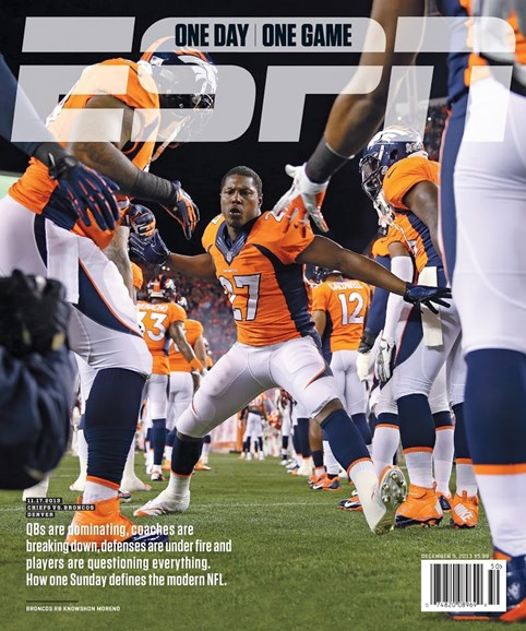 ESPN The Magazine Cover - 12/9/2013
