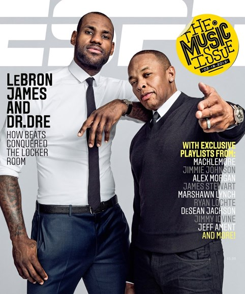 ESPN The Magazine Cover - 2/18/2013