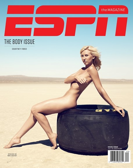 ESPN The Magazine Cover - 7/22/2013