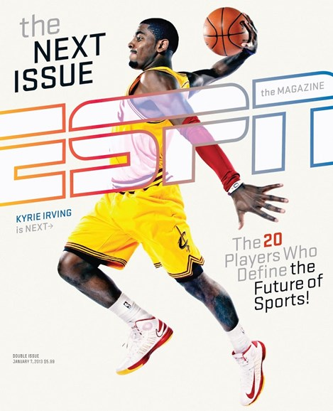 ESPN The Magazine Cover - 1/7/2013