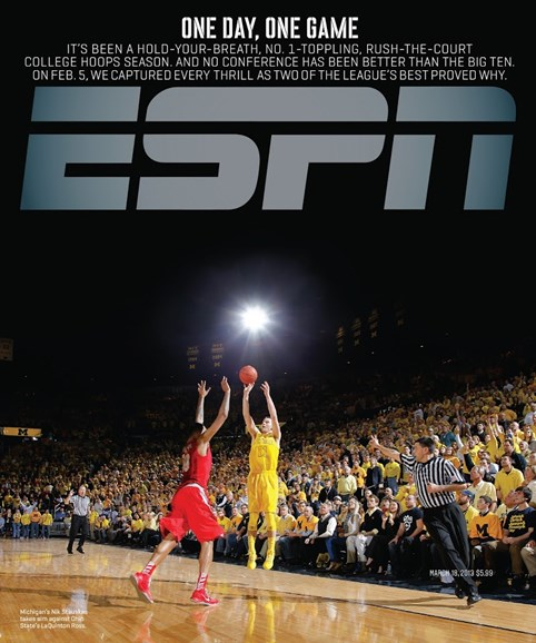 ESPN The Magazine Cover - 3/18/2013