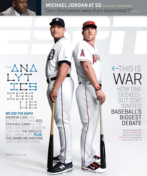 ESPN The Magazine Cover - 3/4/2013