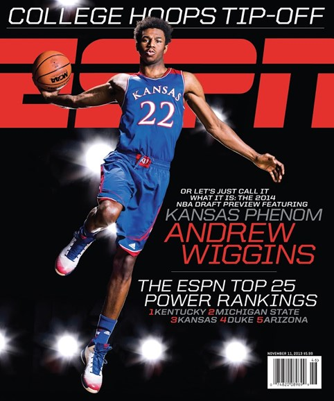 ESPN The Magazine Cover - 11/11/2013
