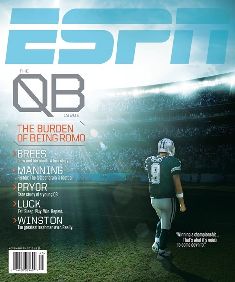 ESPN The Magazine Cover - 11/25/2013