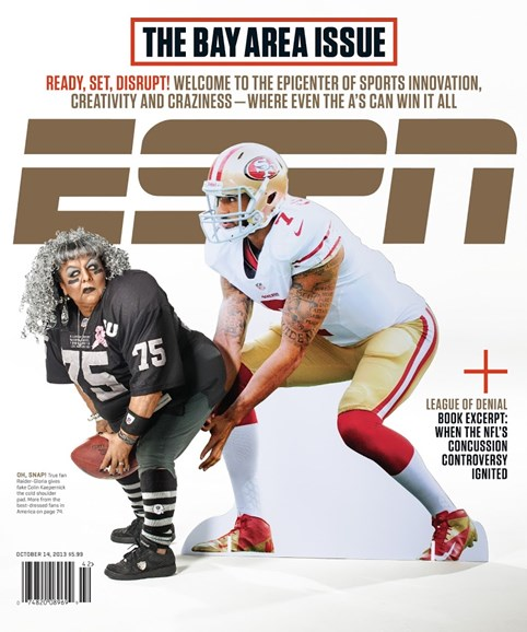 ESPN The Magazine Cover - 10/14/2013