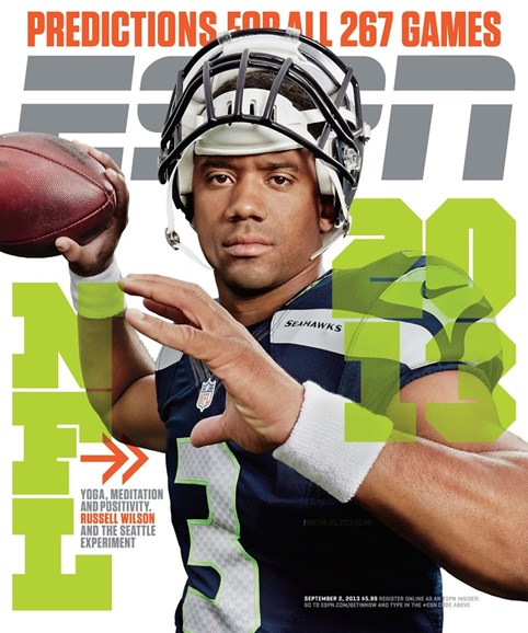ESPN The Magazine Cover - 9/2/2013