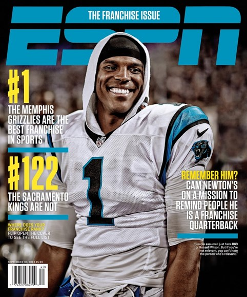 ESPN The Magazine Cover - 9/30/2013