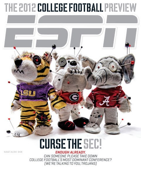 ESPN The Magazine Cover - 8/20/2012