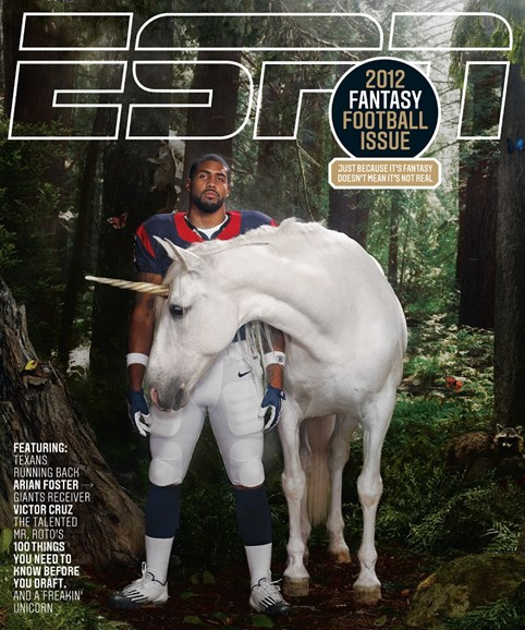 ESPN The Magazine Cover - 8/6/2012