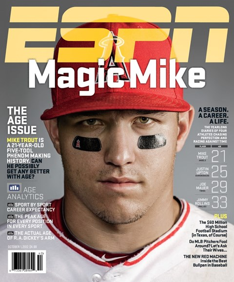 ESPN The Magazine Cover - 10/1/2012