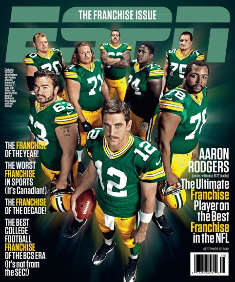 ESPN The Magazine Cover - 9/17/2012