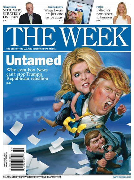The Week Cover - 8/22/2015