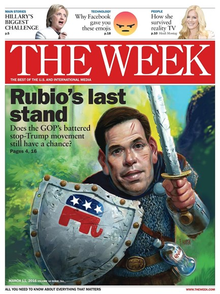 The Week Cover - 3/11/2016