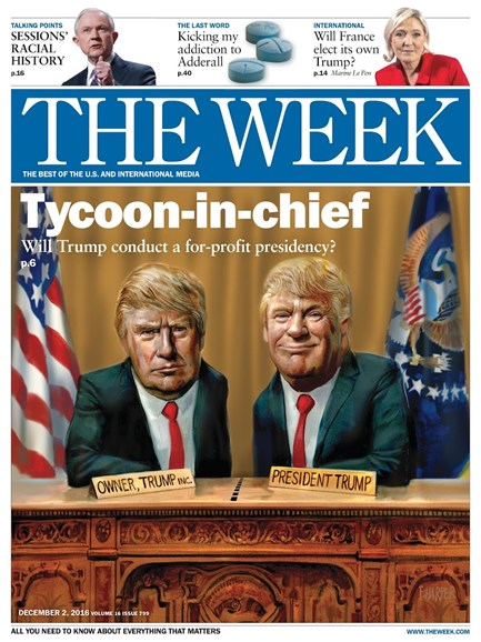 The Week Cover - 12/2/2016