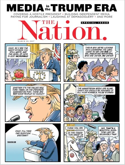 The Nation Cover - 3/20/2017