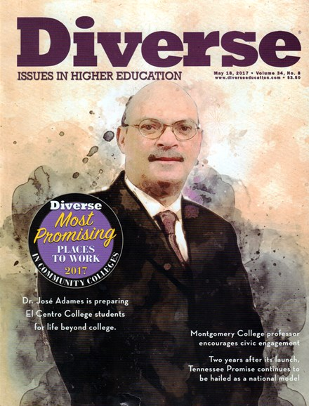 Diverse: Issues In Higher Education Cover - 5/18/2017