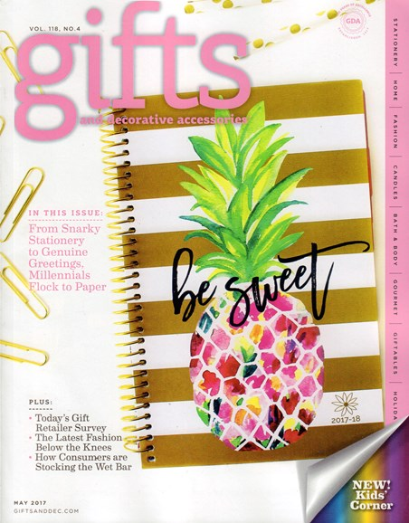 Gifts And Decorative Accessories Cover - 5/1/2017