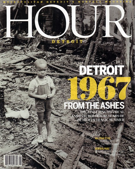 Hour Detroit Cover - 5/1/2017