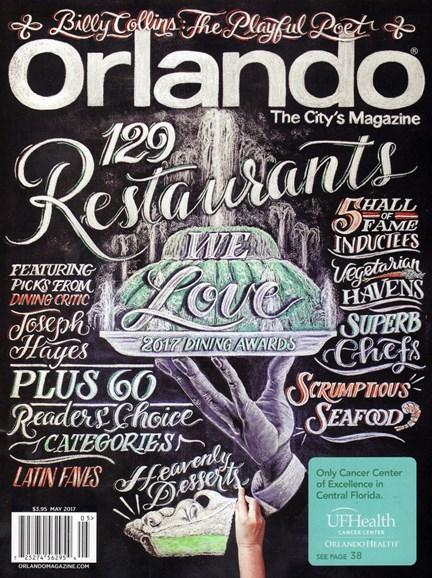 Orlando Magazine Cover - 5/1/2017