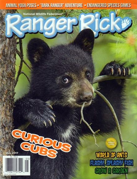 Ranger Rick Cover - 5/1/2017