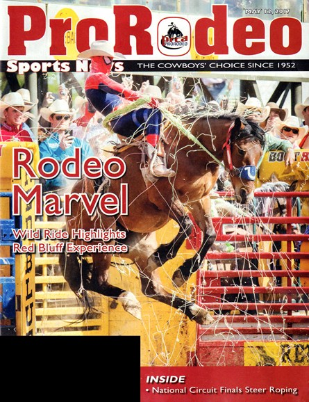 Pro Rodeo Sports News Cover - 5/12/2017