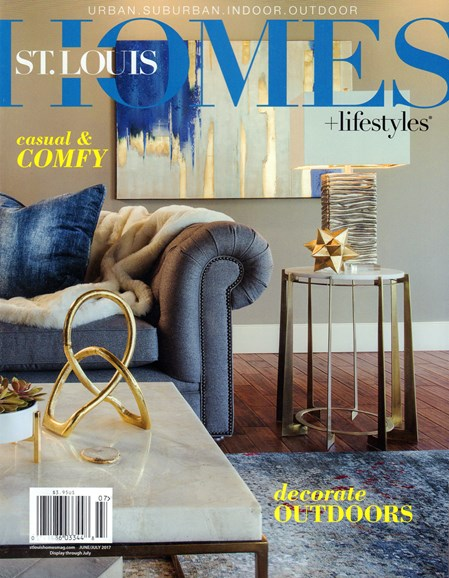 St. Louis Homes & Lifestyles Cover - 6/1/2017