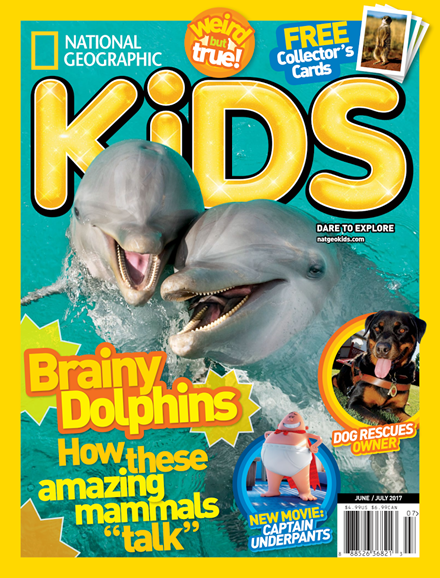 National Geographic Kids Cover - 6/1/2017