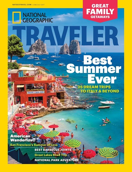 National Geographic Traveler Cover - 6/1/2017