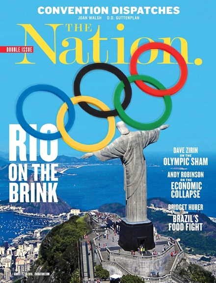 The Nation Cover - 8/15/2016