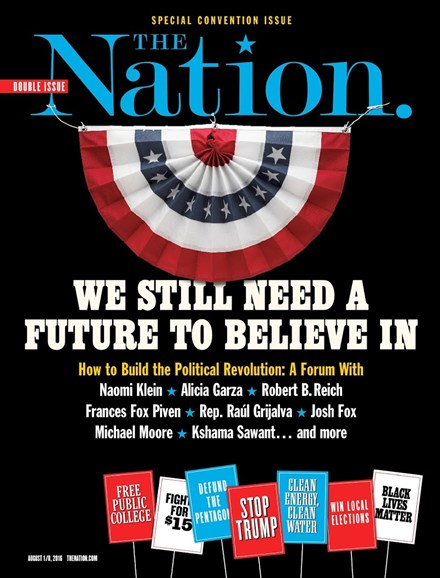 The Nation Cover - 8/1/2016