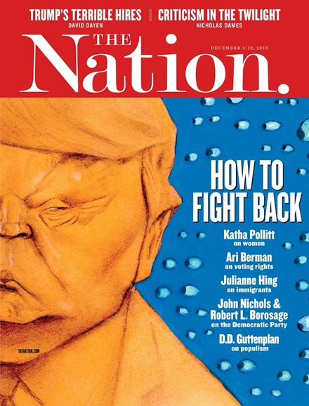 The Nation Cover - 12/5/2016
