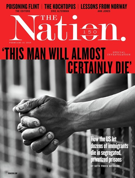 The Nation Cover - 2/15/2016