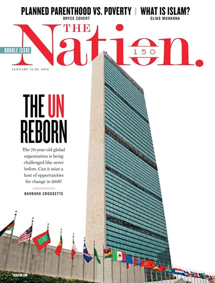 The Nation Cover - 1/11/2016