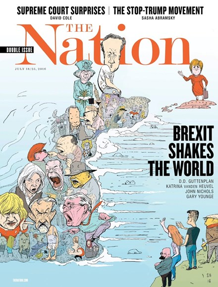 The Nation Cover - 7/18/2016