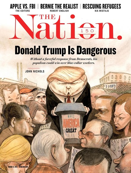 The Nation Cover - 3/14/2016