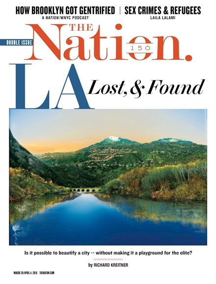 The Nation Cover - 3/28/2016