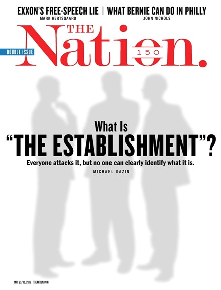 The Nation Cover - 5/23/2016