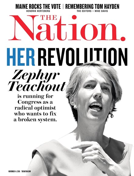 The Nation Cover - 11/14/2016