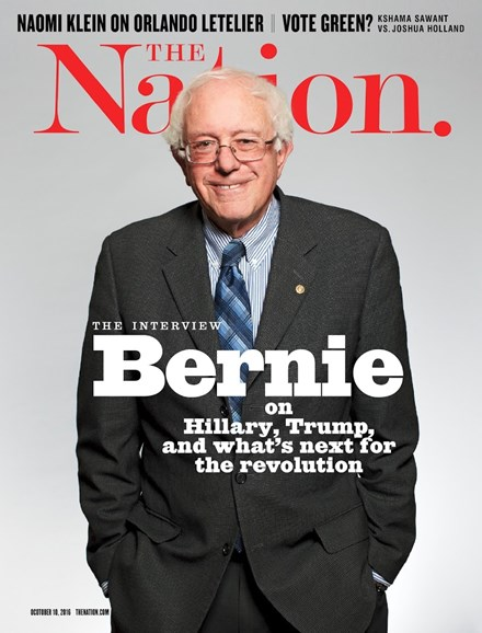 The Nation Cover - 10/10/2016