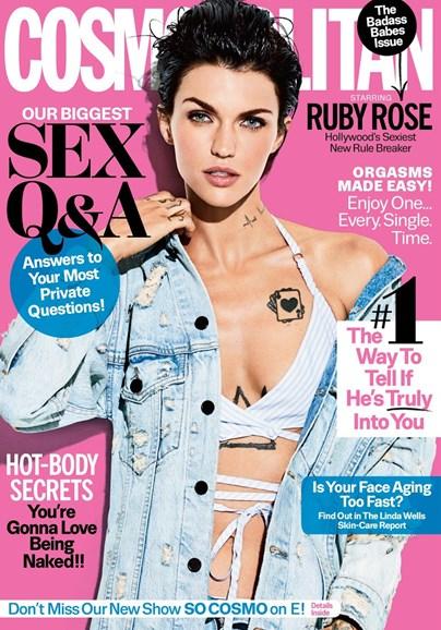 Cosmopolitan Cover - 3/1/2017