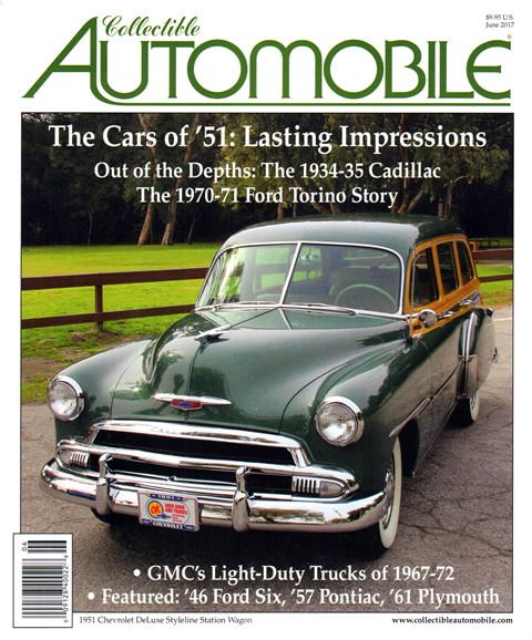 Collectible Automobile Cover - 6/1/2017