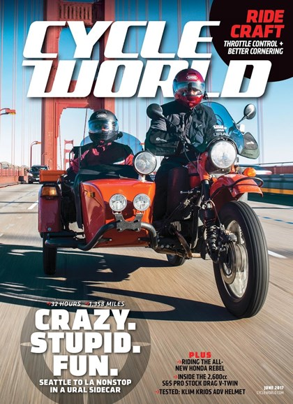 Cycle World Cover - 6/1/2017