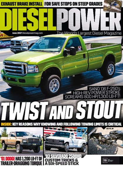 Diesel Power Cover - 6/1/2017