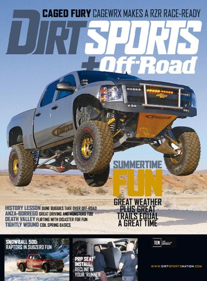Dirt Sports & Off-Road Cover - 6/1/2017